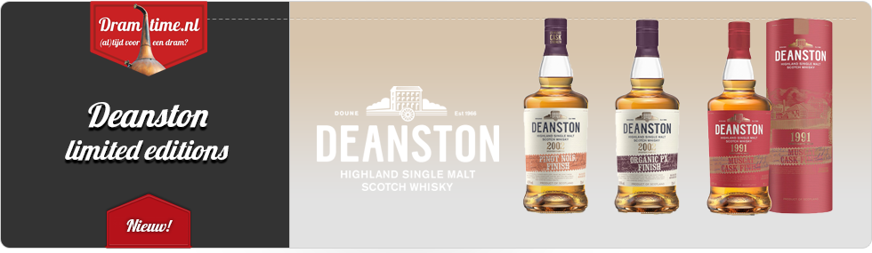 Deanston Limited Edtitions