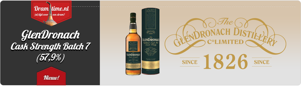 GlenDronach Single Cask Batch 7