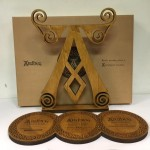 Ardbeg Whisky Plinth Set
