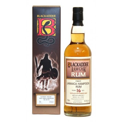 Blackadder Raw Cask Rum Jamaica Hampden 16yo 2000 (56,1%)