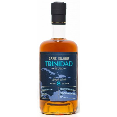 Cane Island Single Estate Rum Trinidad 8yo