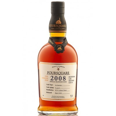 Foursquare Cask Strength 12yo 2008 (60%)
