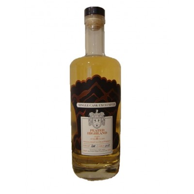 The Creative Whisky Company Single Cask Exclusives Peated Highland 8yo AM010 (50%)