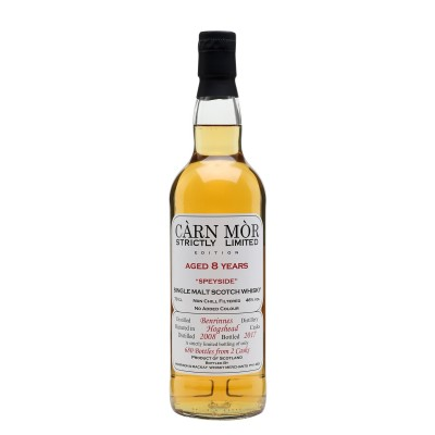 Carn Mor Strictly Limited Auchroisk 8yo 2009