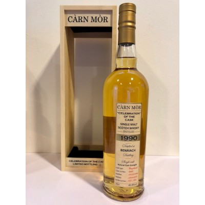 "Carn Mor ""Celebration of the Cask"" Benriach 27yo 1990 (49,8%)"