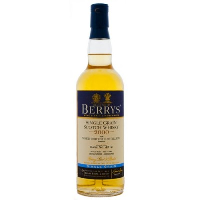 Berry's North British Single Cask Grain 11yo