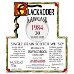 Blackadder Raw Cask Invergordon 30yo 1984 (64,3%)