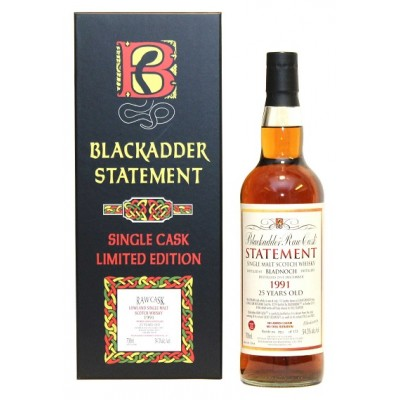 Blackadder Raw Cask Statement Bladnoch 25yo 1991(54,3%)