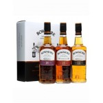 Bowmore Gift Box 20cl (12yo, 15yo 'Darkest', 18yo)