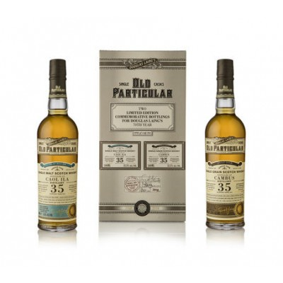 Old Particular Double Pack 35yo Caol & 35yo Cambus