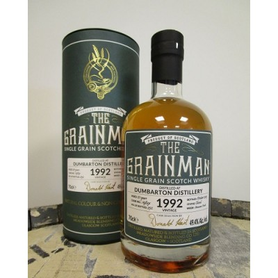 The Grainman Dumbarton 27yo 1992 Amarone Finish (49,4%)