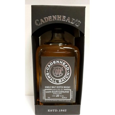 Cadenhead Small Batch Glen Elgin Glenlivet 20yo 1995 (55,6%)