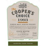 Cooper's Choice Glen Keith 22yo 1993 Madeira Cask Finish