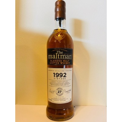 The Maltman Vintage Blended Malt 27yo 1992 (42%)