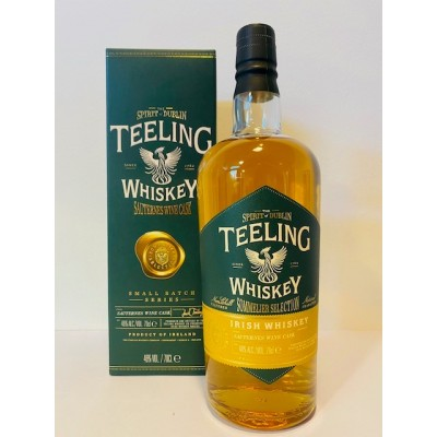 Teeling Small Batch Series Sauternes Wine Cask Finish Sommelier Selection